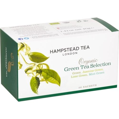 Hampstead Tea Groene Thee Selection Bio 20 zakjes