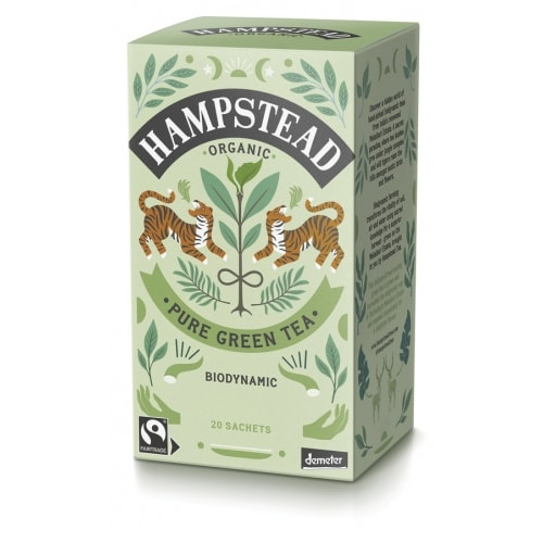 Hampstead Tea Groene Thee Demeter / Bio / Fair 20 x 2 g