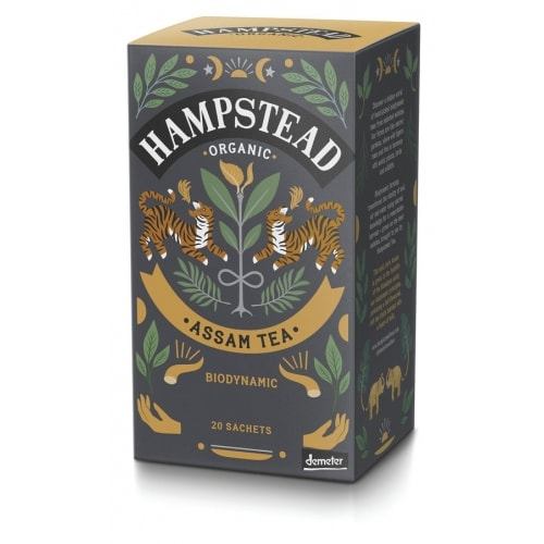Hampstead Tea Zwarte Assam Thee Bio 20 x 2 g