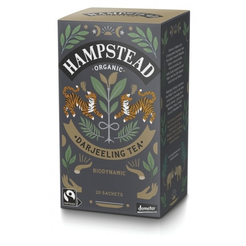 Hampstead Tea Zwarte Darjeeling Thee Demeter / Bio / Fair 20 x 2 g