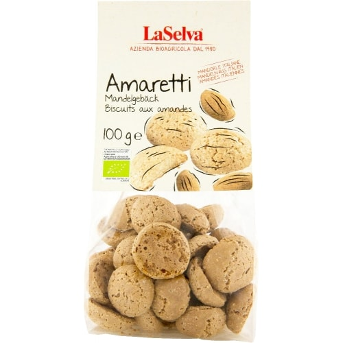 LaSelva Amaretti Amandelkoekjes Bio 100 g
