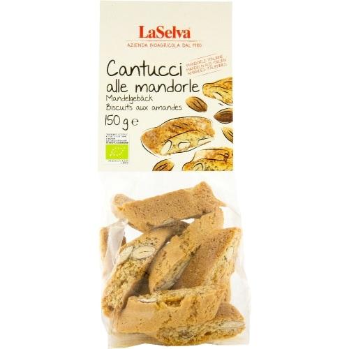 LaSelva Cantucci Amandelkoekjes Bio 150 g