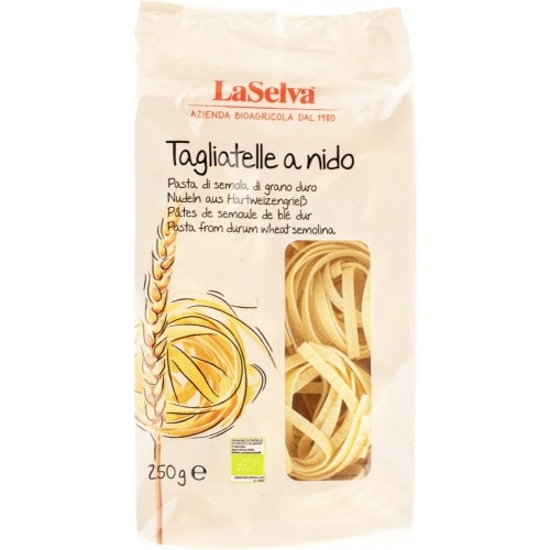 LaSelva Tarwe Tagliatelle Wit Bio 250 g