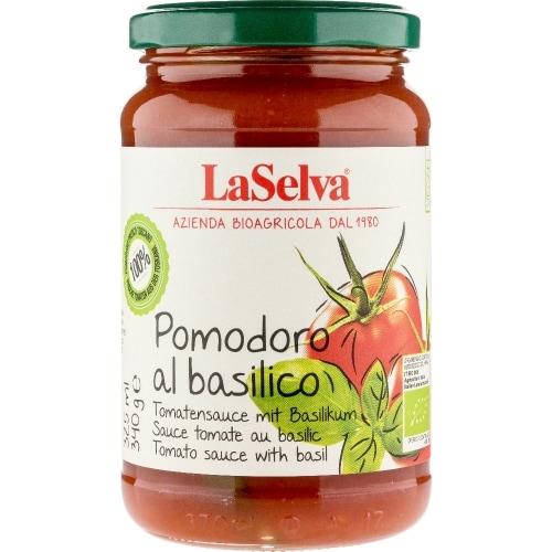 LaSelva Tomatensaus Basilicum Bio 340 g