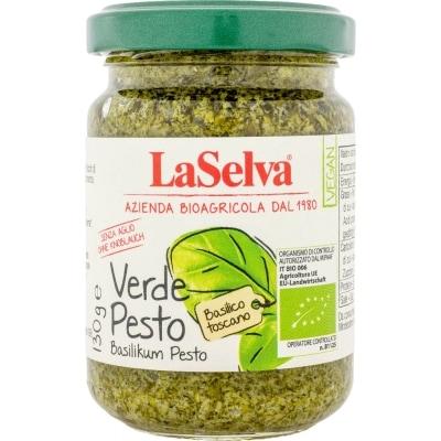 LaSelva Verde Pesto Basilicumpesto Bio 130 g