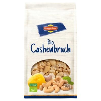 MorgenLand Cashewnoten Stukjes Bio 200 g