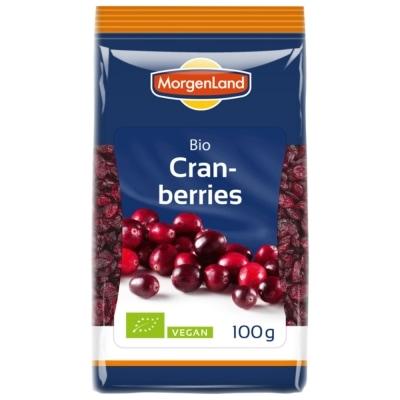 MorgenLand Cranberries Gedroogd Bio 100 g