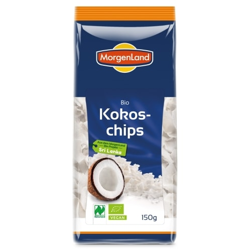 MorgenLand Kokoschips Naturland / Bio 150 g