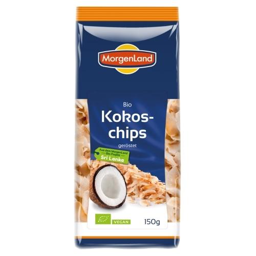 MorgenLand Kokoschips Geroosterd Bio 150 g