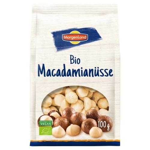 MorgenLand Macadamianoten Naturland / Bio 100 g