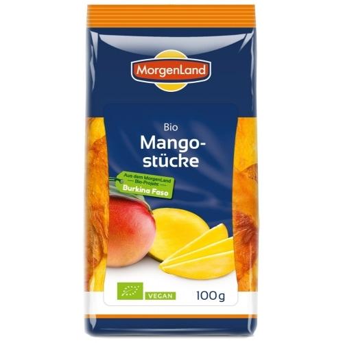 MorgenLand Mangostukken Gedroogd Naturland / Bio 100 g