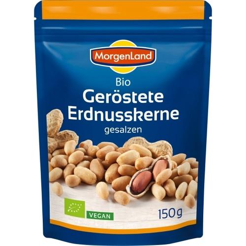 MorgenLand Pinda's Geroosterd Gezouten Bio 150 g