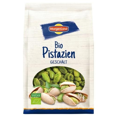 MorgenLand Pistachenoten Gepeld Bio 70 g