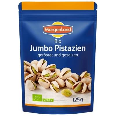 MorgenLand Pistachenoten Geroosterd Gezouten Bio 125 g