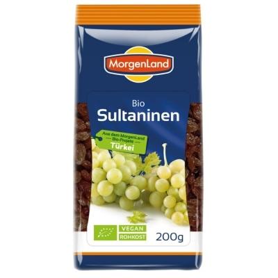 MorgenLand Rozijnen Sultana Bio 200 g