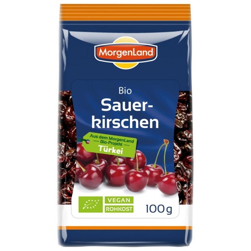 MorgenLand Zure Kersen Gedroogd Bio 100 g