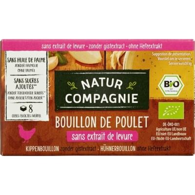 Natur Compagnie Kippenbouillonblokjes Bio 8 x 10 g