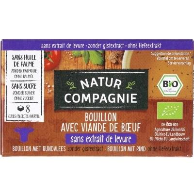 Natur Compagnie Runderbouillonblokjes Bio 8 x 10 g