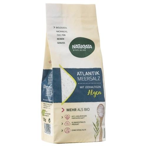 Naturata Atlantisch Zeezout Fijn Jodium Bio 500 g