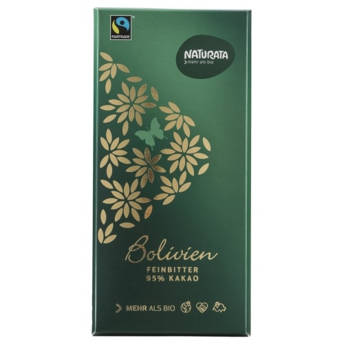 Naturata Pure Chocoladetablet 95% Bio / Fair 80 g