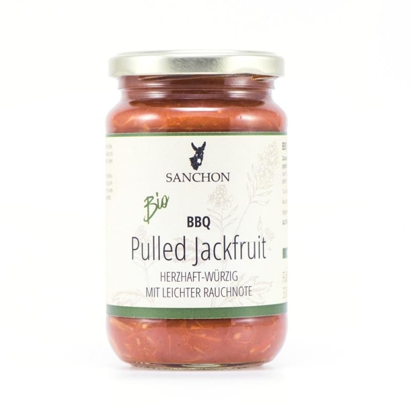 Sanchon BBQ Pulled Jackfruit Bio 330 ml
