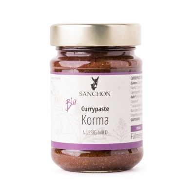 Sanchon Korma Currypasta Bio 190 g
