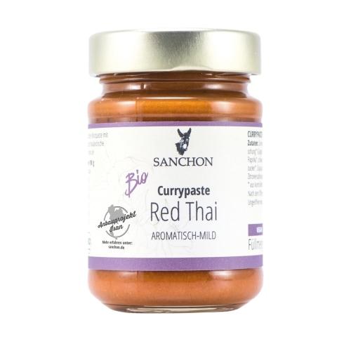 Sanchon Rode Thaise Currypasta Bio 190 g