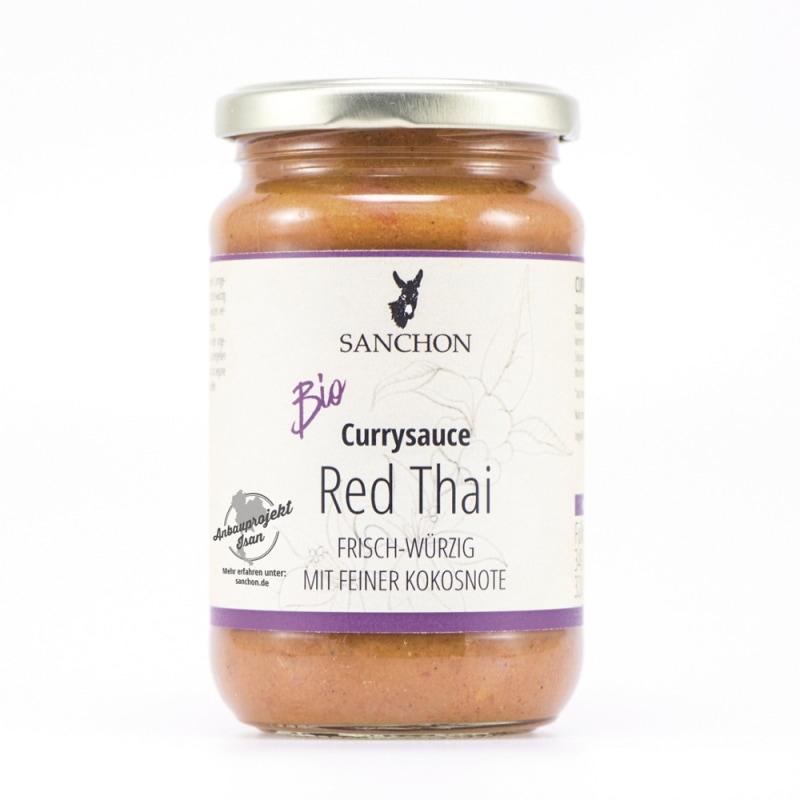 Sanchon Rode Thaise Currysaus Bio 320 ml