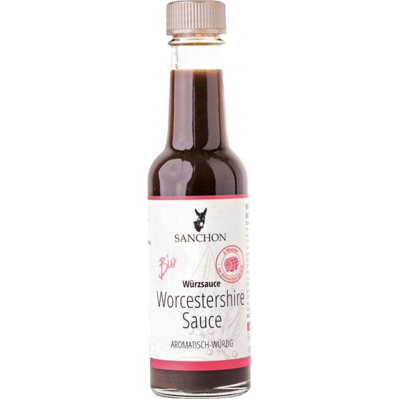 Sanchon Worcestershiresaus Bio 140 ml