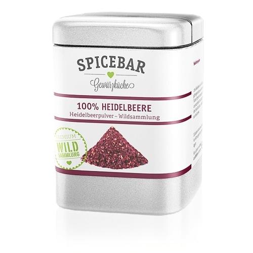 Spicebar Bosbessenpoeder Bio 50 g