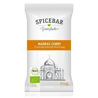 Spicebar Curry Madras Kruidenmix Bio 12 g