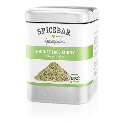 Spicebar Groene Laos Curry Kruidenmix Bio 55 g