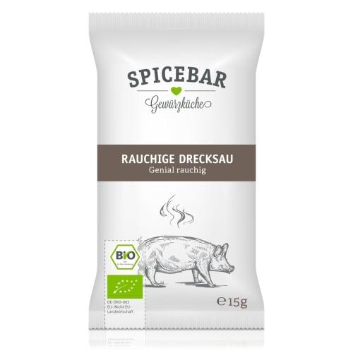 Spicebar Rokerig Varken Kruidenmix Bio 15 g